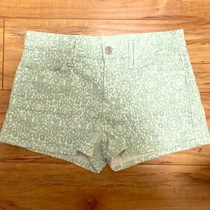 7 For All Mankind Printed Shorts